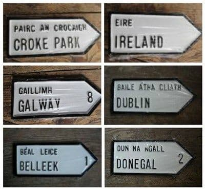 Irish Road Signs - Irish Town or Village