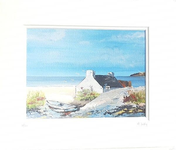 Michelle Duffy Irish Beach House Print