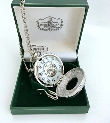 Mullingar Pewter Mechanical Pocket Watch