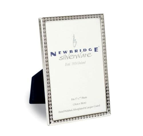 Newbridge Silverware Frame 5x7 Decorative Edge