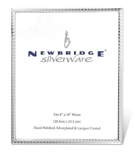 Newbridge Silverware Frame 8x10 Decorative Edge