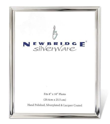 Newbridge Silverware Frame 8x10 Plain Edge