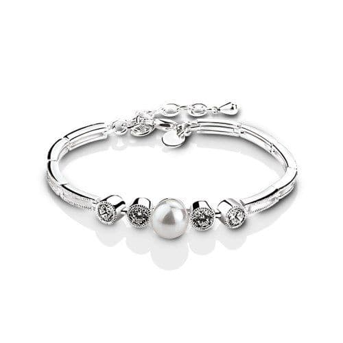 Newbridge Silverware Grace Kelly Bracelet with Pearl