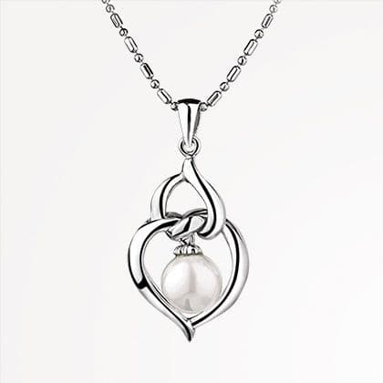Newbridge Silverware Jewellery Grace Kelly Heart Pendant
