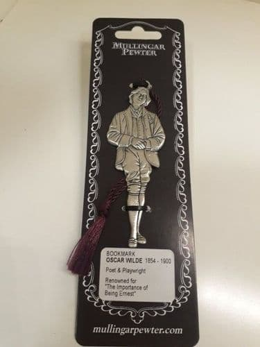 Oscar Wilde Pewter Bookmark