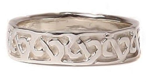 Sterling Silver Lover's Celtic Knot Ring