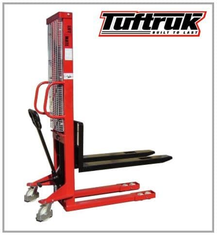 Manual Hand Stacker 1000kg - L/H -  1600mm