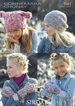 Chunky Accessories Knitting Patterns
