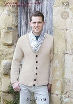 Hayfield Chunky with Wool - 9703 Cardigan Knitting Pattern
