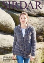 Sirdar Alpine Knitting Pattern - 10060 Jacket