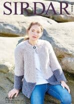 Sirdar Alpine Knitting Pattern - 10063 Jacket