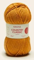 Sirdar Country Classic Worsted 100g - 677 Golden