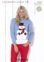 Sirdar Country Style DK - 9723 Jumpers Knitting Pattern