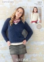 Sirdar Ophelia Chunky Knitting Patterns Reduced to just £1.99