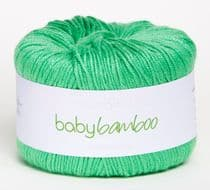 Sirdar Snuggly Baby Bamboo DK 50g - 085 Granny Smith CLEARANCE PRICE £1.99