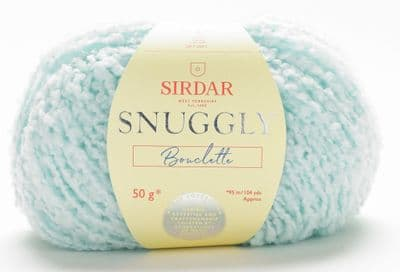 Sirdar Snuggly Bouclette 50g - 138 Spearmint - CLEARANCE PRICE £2.50