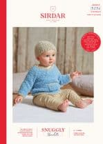 Sirdar Snuggly Bouclette Knitting Pattern Booklet - 5256 Hat & Sweater