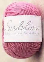 Sublime Baby Cashmere Merino Silk 4 ply 50g - RRP £5.83 - OUR PRICE £4.99
