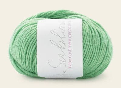 Sublime Baby Cashmere Merino Silk DK 50g - 604 Jelly Bean - Clearance Price £4.25