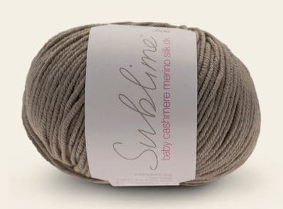 Sublime Baby Cashmere Merino Silk DK 50g - 677 Sandcastle - Clearance Price £4.25