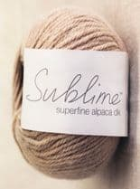Sublime Superfine Alpaca DK 50g - RRP £6.30 - OUR PRICE £5.25