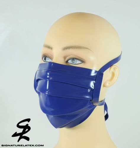 Surgical Mask in Royal Blue (E)