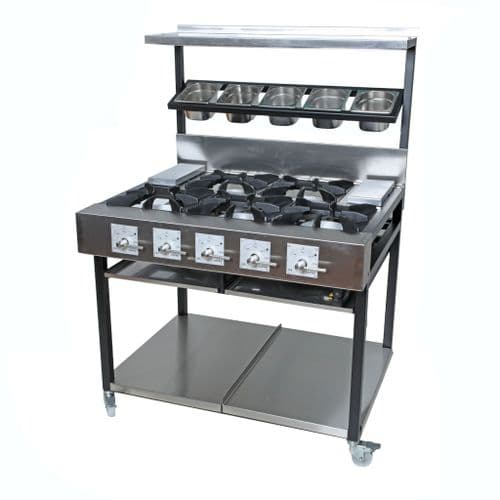 5 Burner Indian Cooker