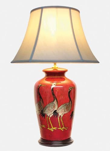 Large Oriental Ceramic Porcelain Table Lamp M8604(S) - Chinese Mandarin Style