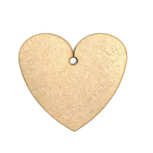 Heart Shape MDF Crafting Blanks