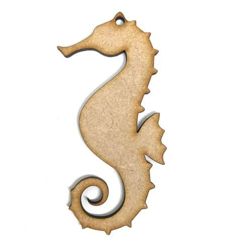 Seahorse MDF Blank Craft Shapes